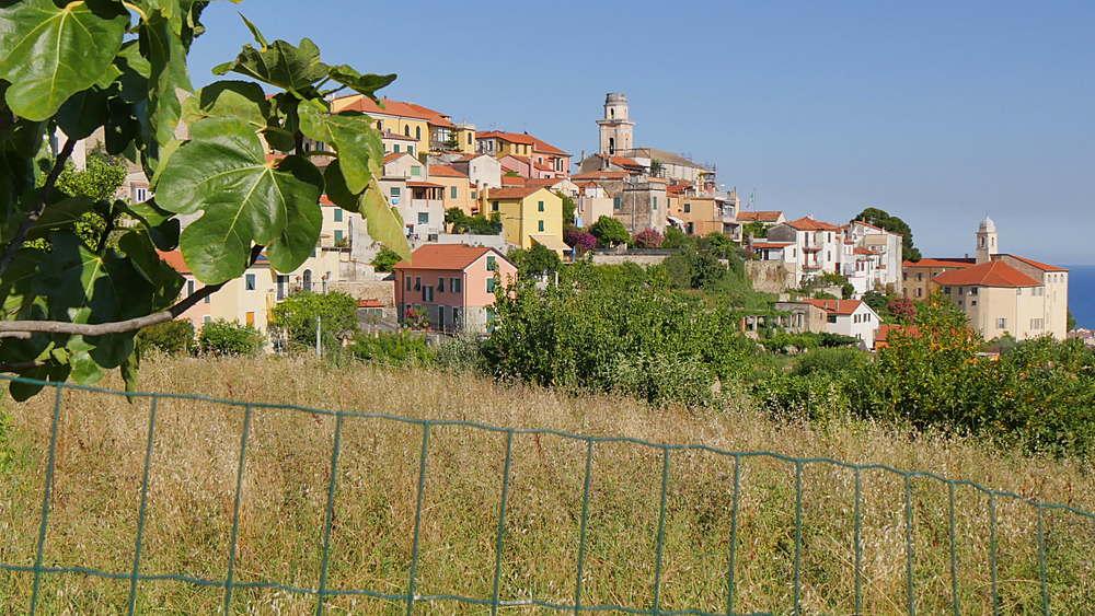View of Diano Castello, Imperia, Liguria, Italy, Europe