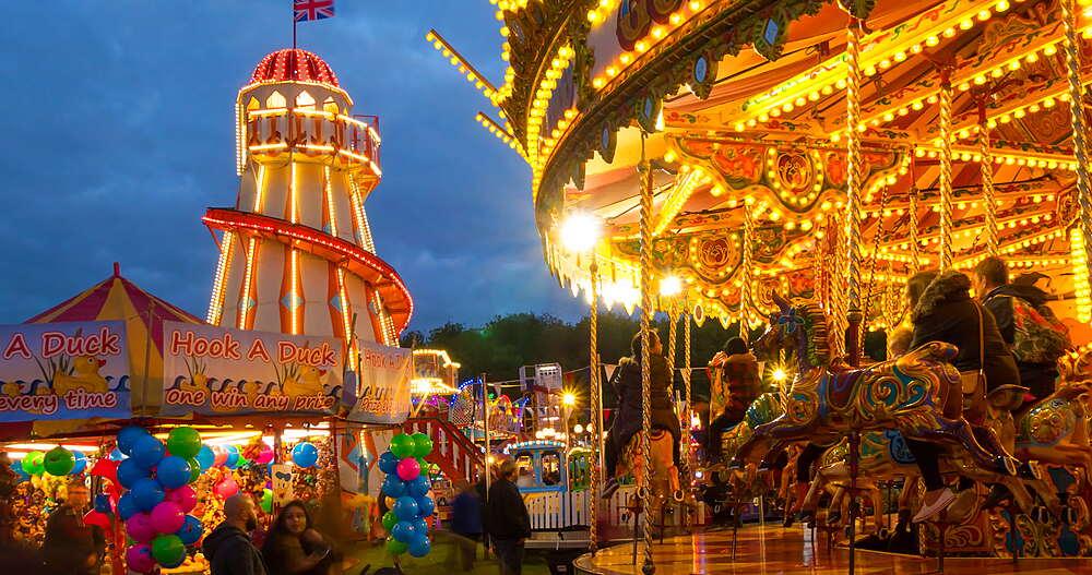 Goose Fair, Forest Recreation Ground, Nottingham, Nottinghamshire, England, United Kingdom, Europe