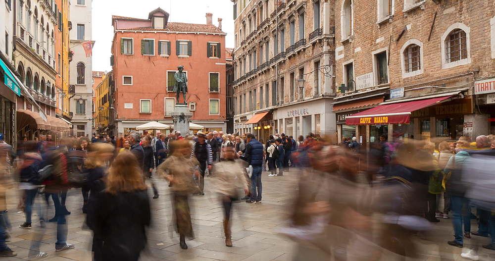 Campo S Bortolomio, Venice, Veneto, Italy, Europe