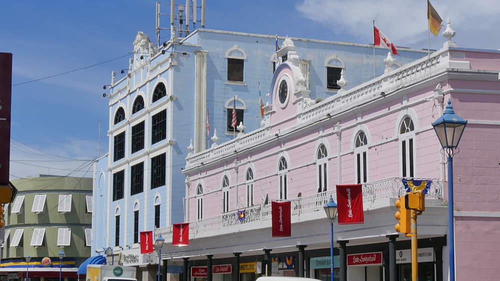 Broad Street in Bridgetown, St Michael, Barbados, West Indies, Caribbean - 844-10927
