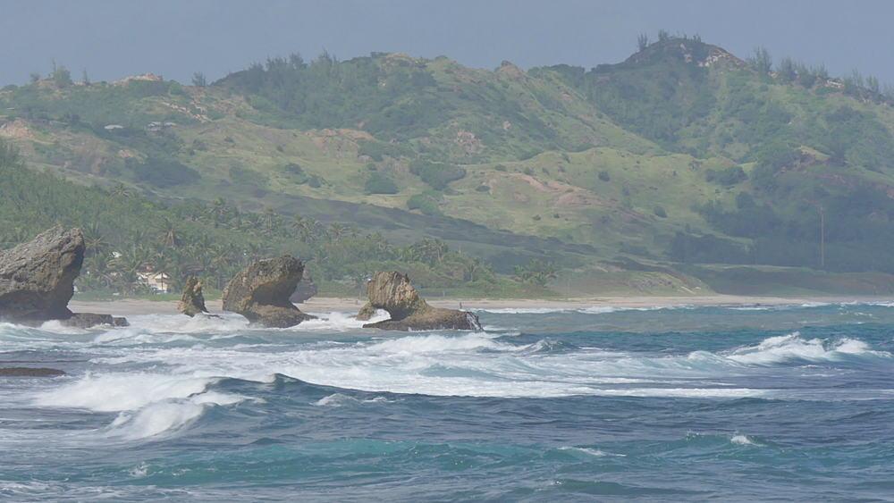 Bathsheba Beach, St Joseph, Barbados, West Indies, Caribbean