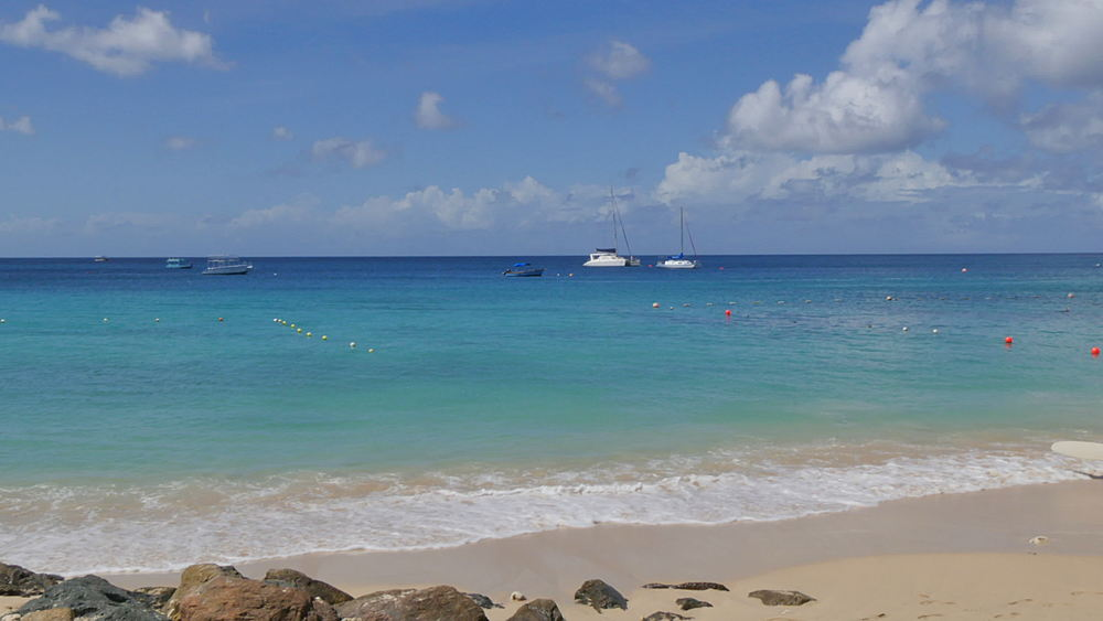 Beach at Holetown, St James, Barbados, West Indies, Caribbean