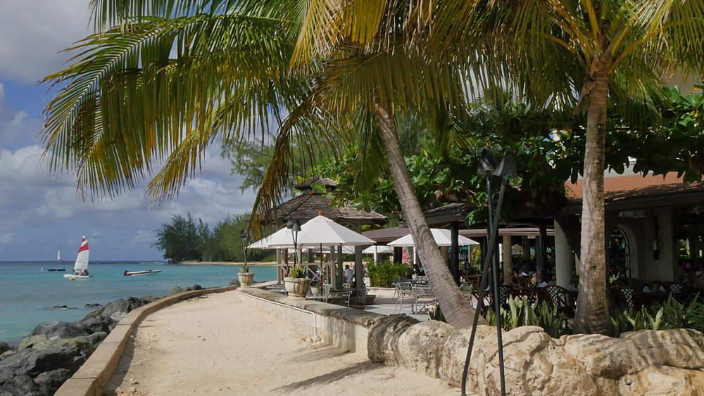 Luxury Hotel Beach near Holetown, St James, Barbados, West Indies, Caribbean