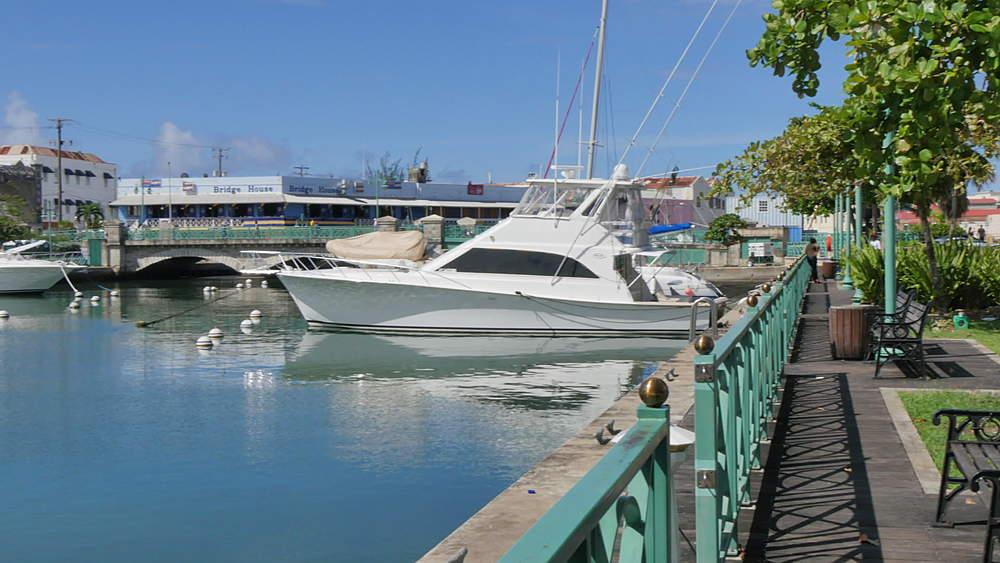 Constitution River, Bridgetown, St Michael, Barbados, West Indies, Caribbean - 844-11065