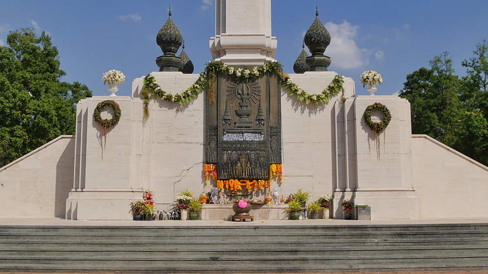King Rama lV Monument, Lumpini Park, Bangkok, Thailand, South East Asia, Asia