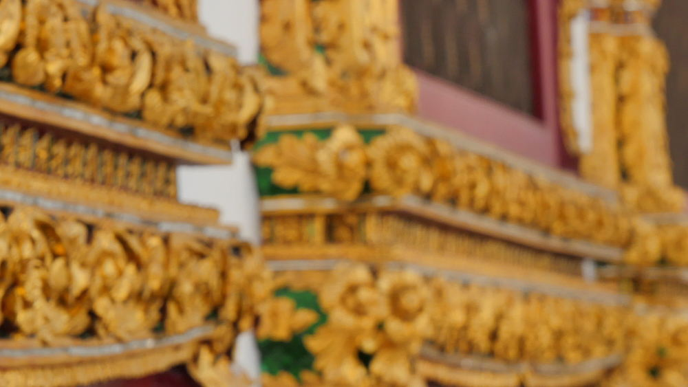 Wat Ratchanatdaram Buddhist Temple on Ratchadamnoen Klang and Maha Chai Road, Bangkok, Thailand, South East Asia, Asia