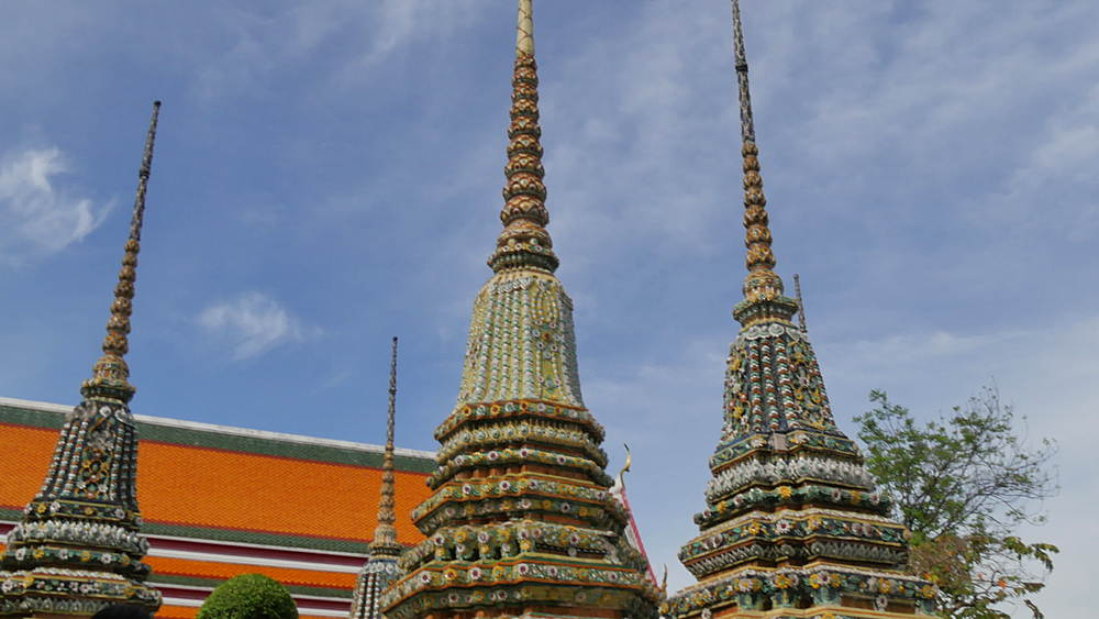 Wat Pho complex, Bangkok, Thailand, South East Asia, Asia