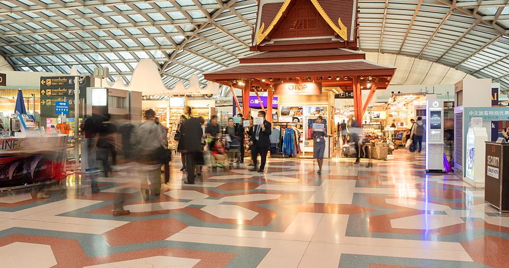 Duty Free area at Suvarnabhumi Airport, Bangkok, Thailand, South East Asia, Asia