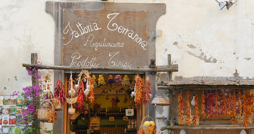 Store on Corso Italia, Sorrento, Costiera Amalfitana (Amalfi Coast), UNESCO World Heritage Site, Campania, Italy, Europe - 844-12396