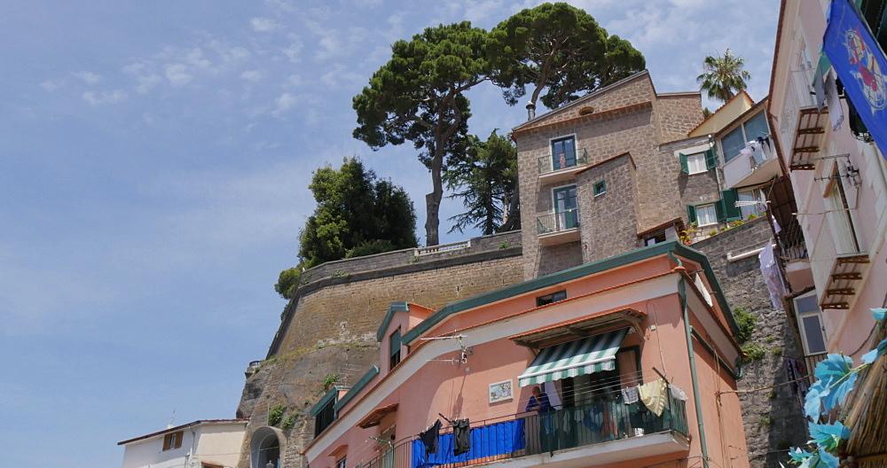 Restaurants in Marina Grande, Sorrento, Costiera Amalfitana (Amalfi Coast), UNESCO World Heritage Site, Campania, Italy, Europe