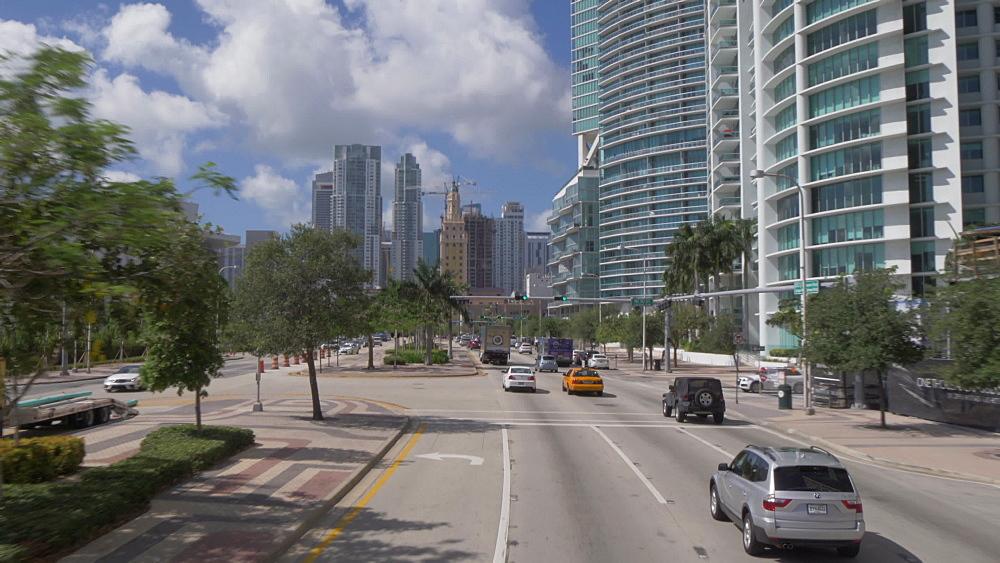 Travelling through Bayside in Downtown Miami, Miami, Florida, USA - 844-14157