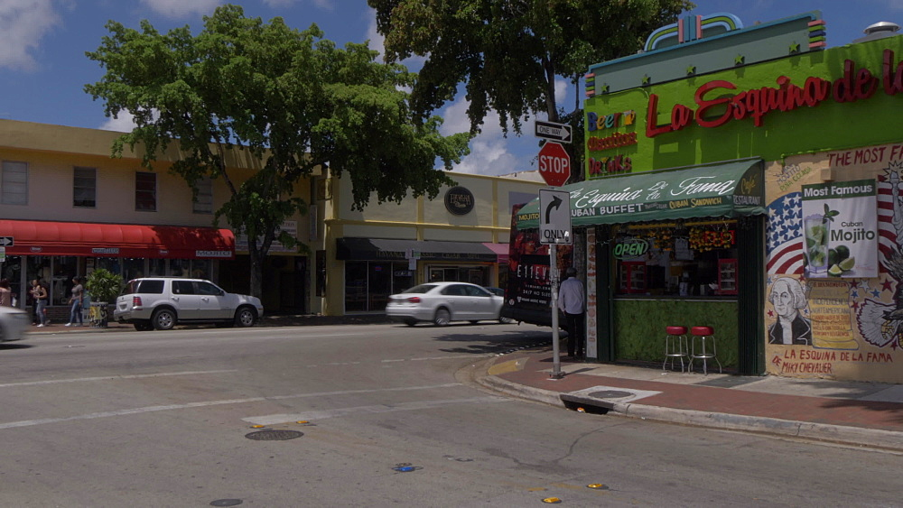 Little Havana graffiti on 8th Street in Little Havana, Little Havana, Miami, Florida, USA - 844-14203
