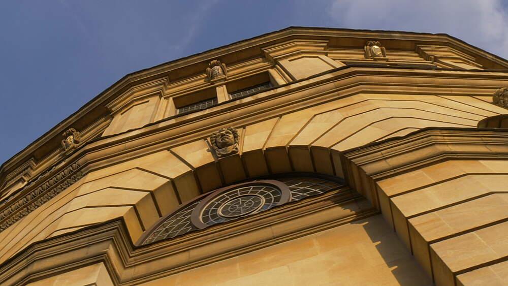 The Sheldonian Theatre, Oxford, Oxfordshire, England, United Kingdom, Europe - 844-14287