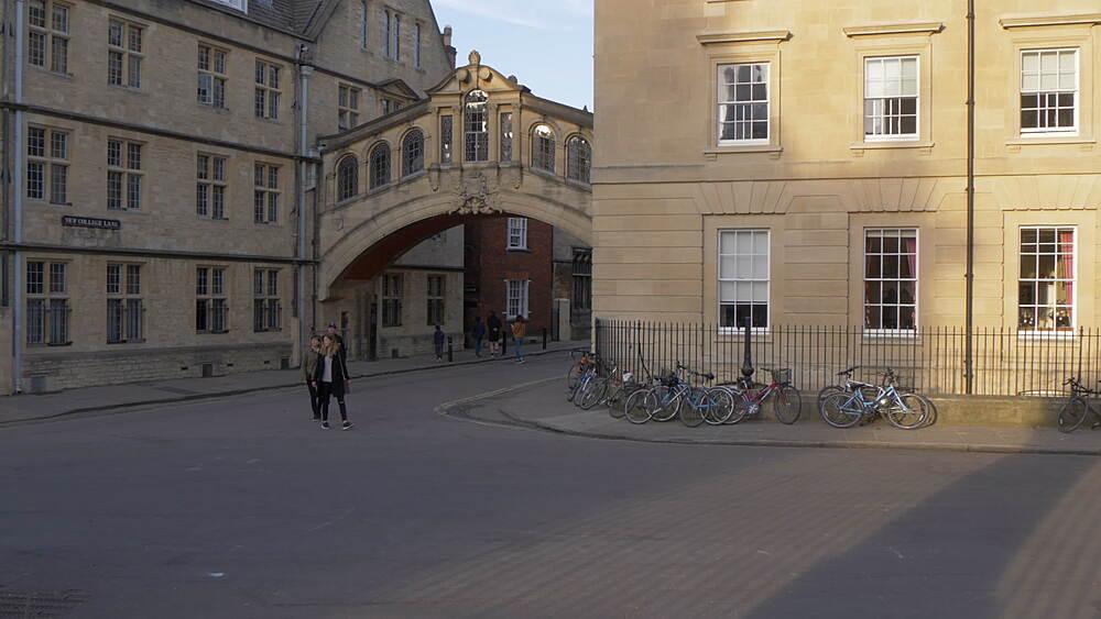 Bridge of Sighs, Oxford, Oxfordshire, England, United Kingdom, Europe - 844-14288