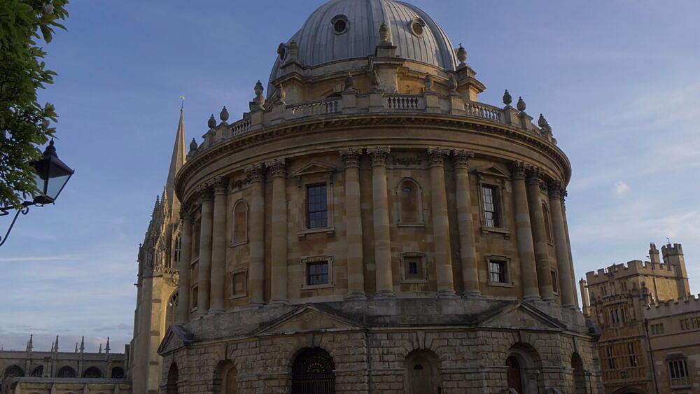 Radcliffe Camera reading library, Oxford, Oxfordshire, England, United Kingdom, Europe - 844-14289