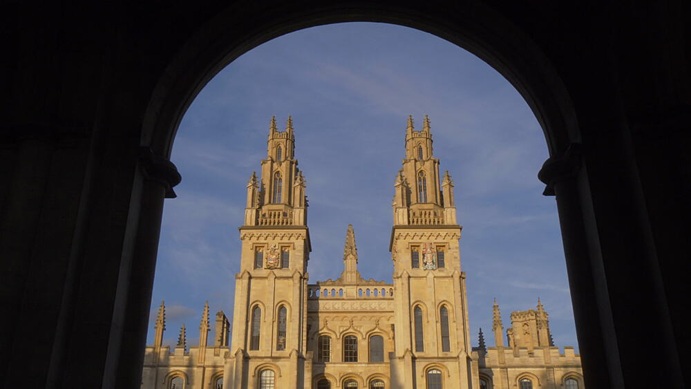 All Souls College, Oxford, Oxfordshire, England, United Kingdom, Europe - 844-14291