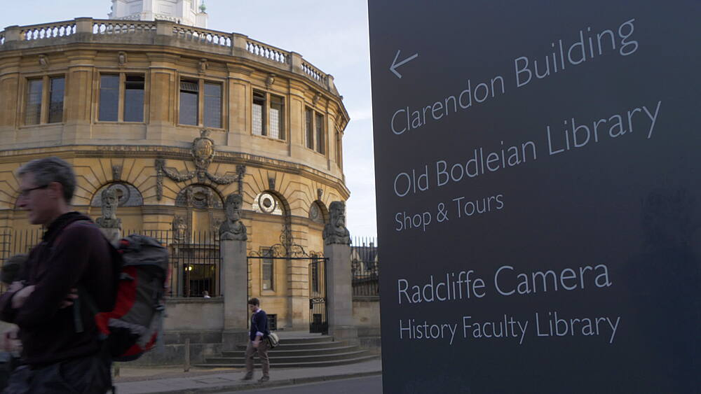 The Sheldonian Theatre, Oxford, Oxfordshire, England, United Kingdom, Europe - 844-14297