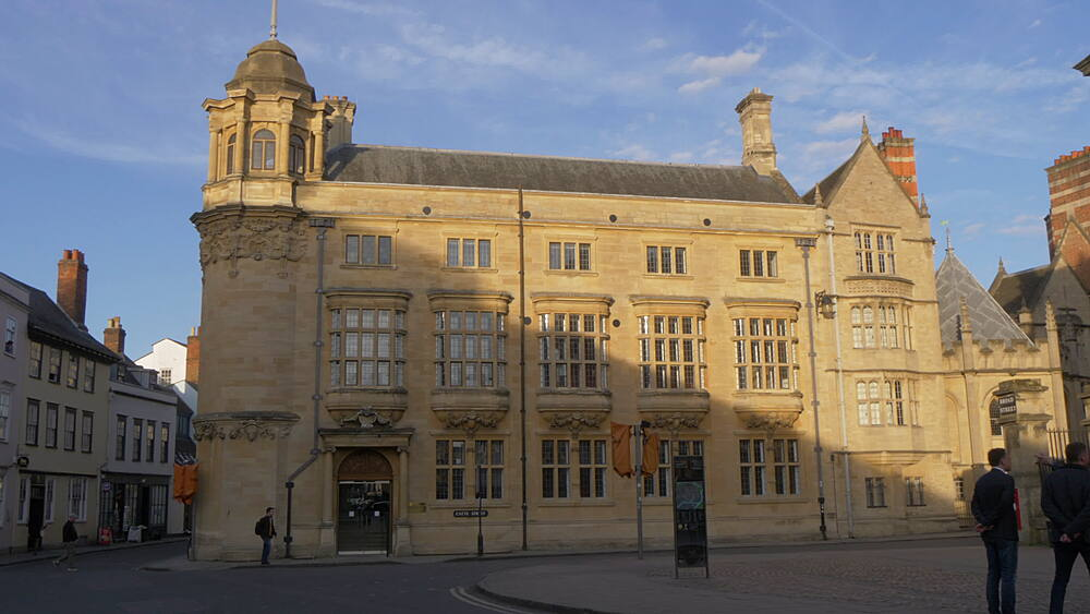The Clarendon Building on Broad Street, Oxford, Oxfordshire, England, United Kingdom, Europe - 844-14314