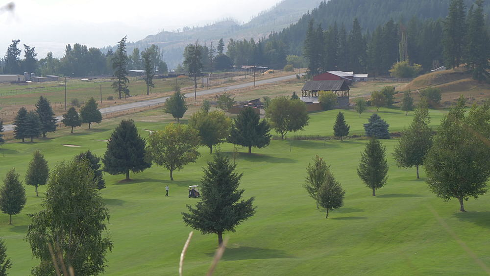 View of Chinook Cove Golf course, British Columbia, Canada, North America - 844-15643