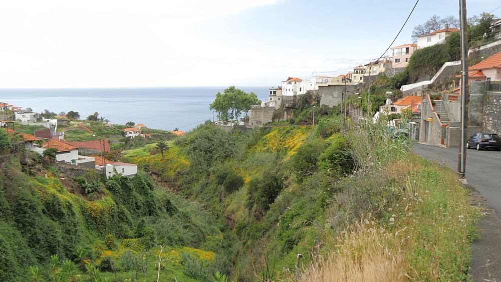 Coastline near Funchal, Madeira, Portugal, Atlantic, Europe