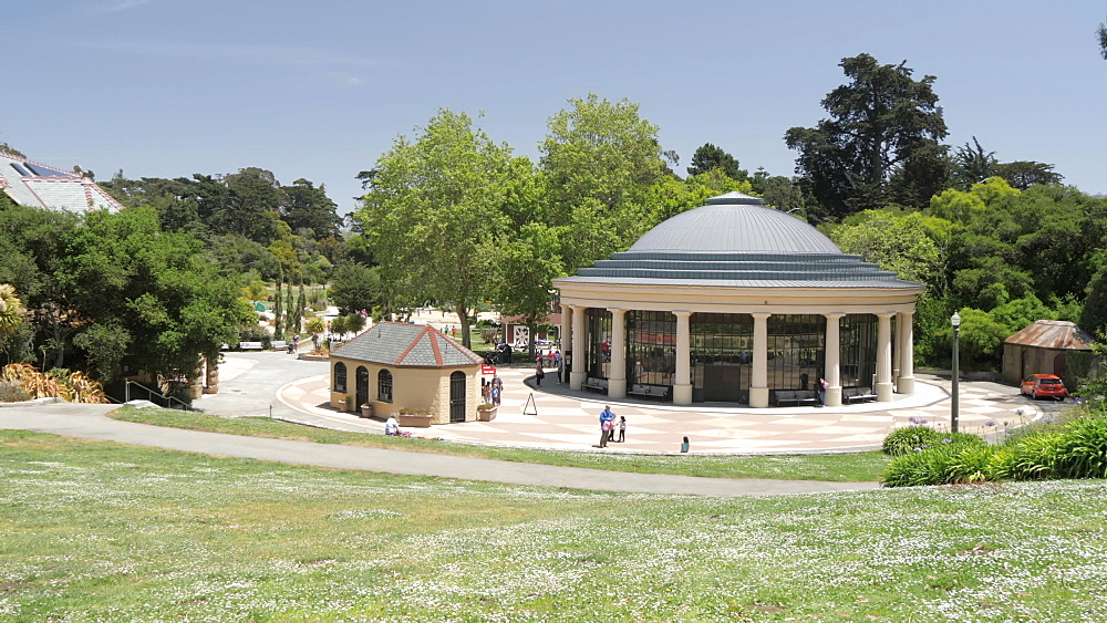 View of Carousel in Golden Gate Park, San Francisco, California, United States of America, North America