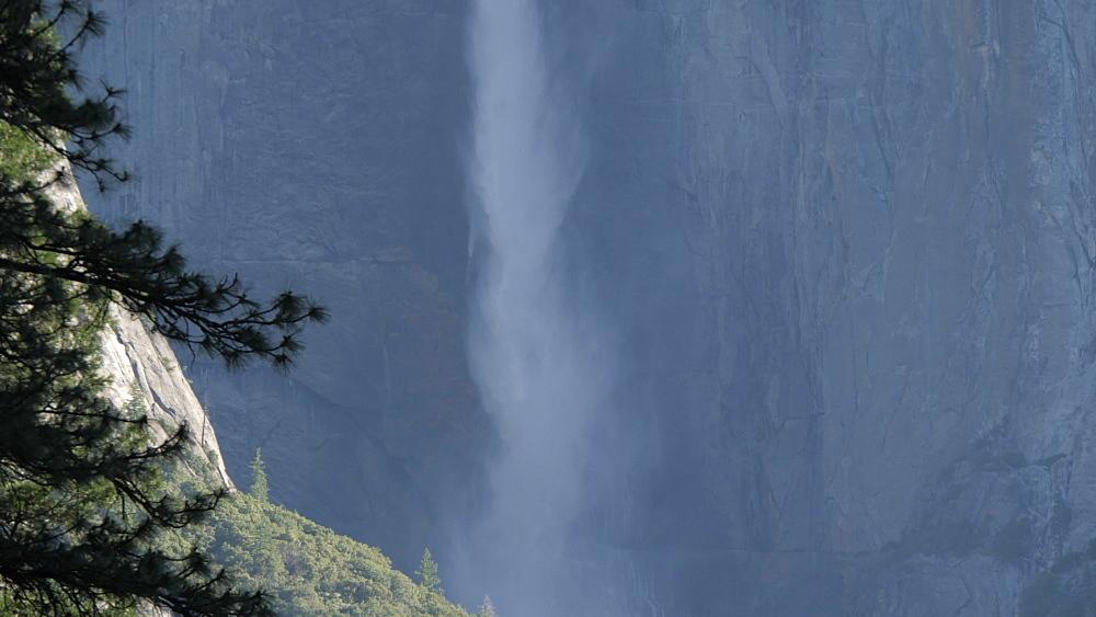 View of Upper Yosemite Falls, Yosemite National Park, UNESCO World Heritage Site, California, United States of America, North America