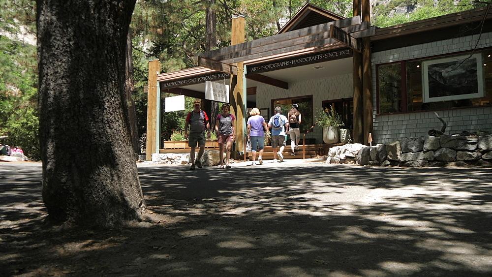 Souvenir shop in Yosemite Village, Yosemite National Park, UNESCO World Heritage Site, California, United States of America, North America - 844-17778