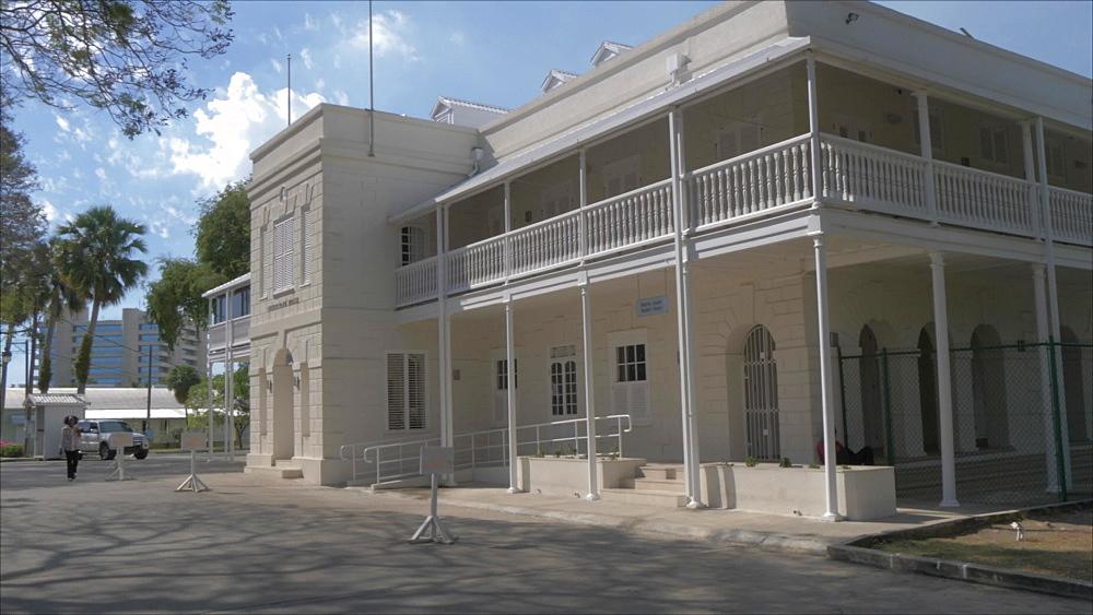 Queens Park House in Queens Park, Bridgetown, Barbados, West Indies, Caribbean, Central America
