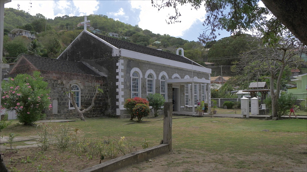 Port Elizabeth Adventist Church in Port Elizabeth, Bequia, St. Vincent and The Grenadines, West Indies, Caribbean, Central America - 844-19124
