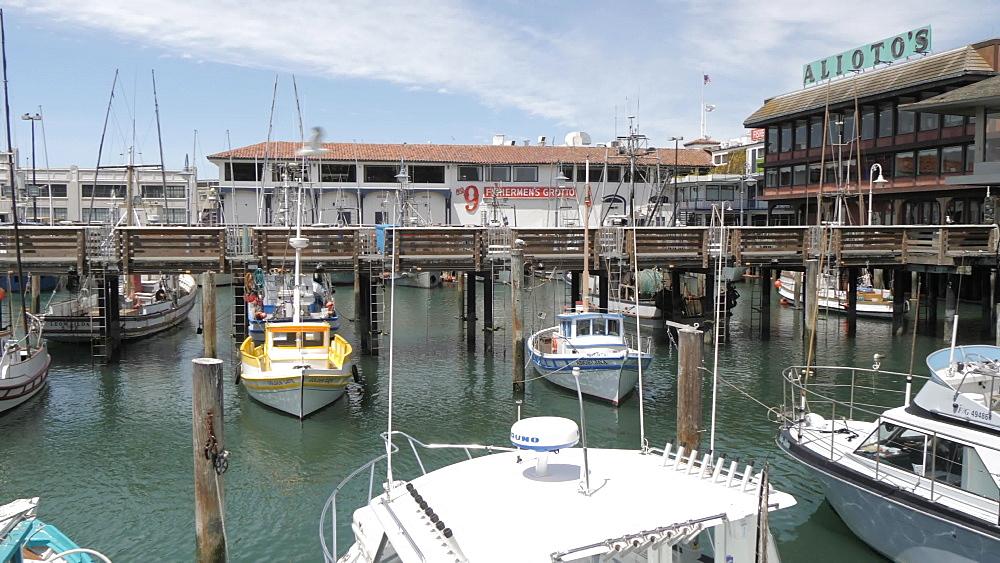Marina, Fisherman's Wharf in daytime, San Francisco, California, USA, North America