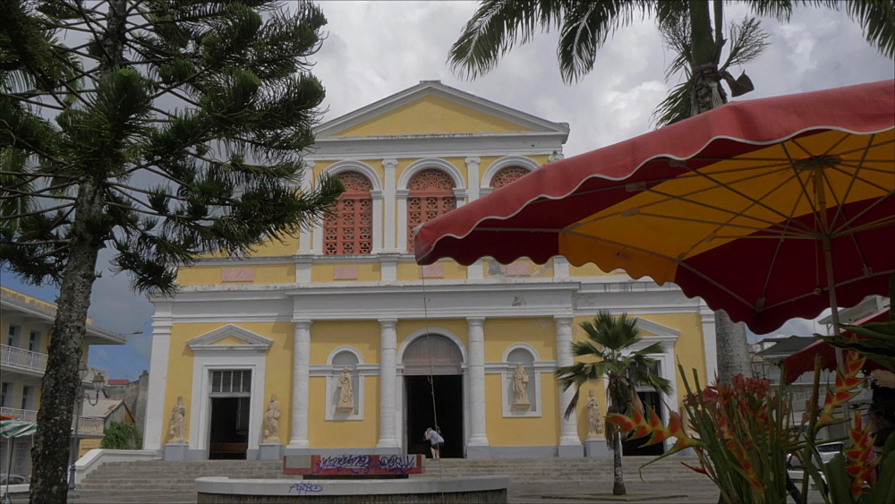 Catholic Church of St. Peter and St. Paul, Pointe-a-Pitre, Guadeloupe, French Antilles, West Indies, Caribbean, Central America