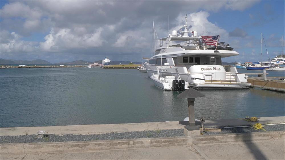Harbour, Spanish Town, British Virgin Islands, West Indies, Caribbean, Central America
