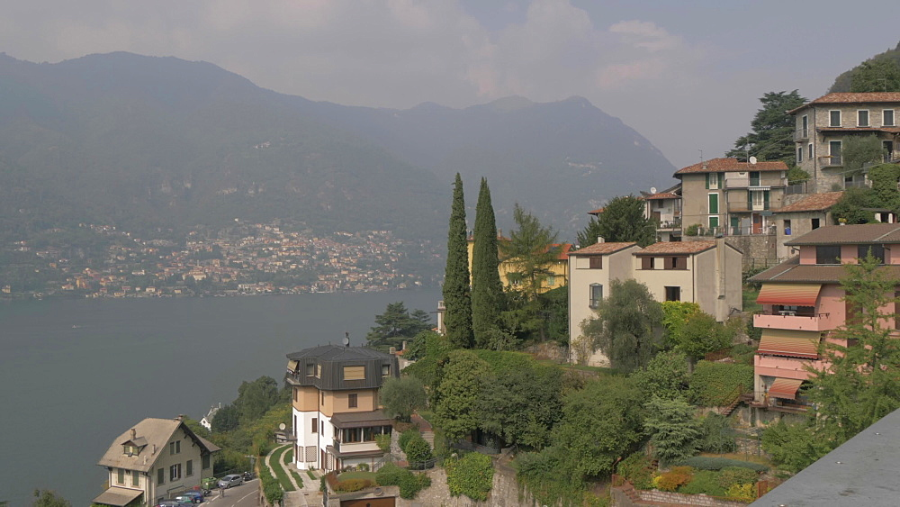Lake Como from Nesso, Lake Como, Lombardy, Italian Lakes, Italy, Europe