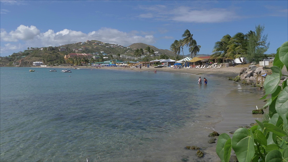 Frigate Bay Beach, St. Kitts, St. Kitts and Nevis, Leeward Islands, West Indies, Caribbean, Central America