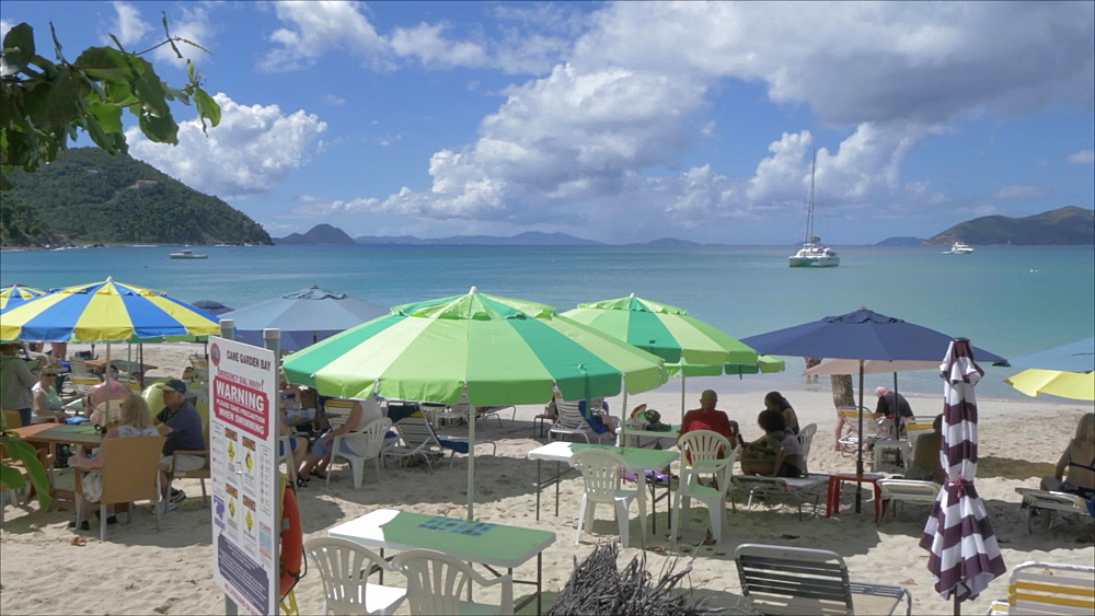 Cane Garden Bay Beach, Tortola, British Virgin Islands, West Indies, Caribbean, Central America