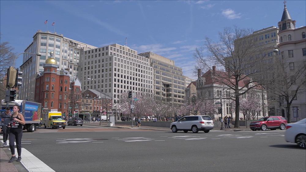 Indiana Plaza on Pennsylvania Avenue, Washington DC, United States of America, North America