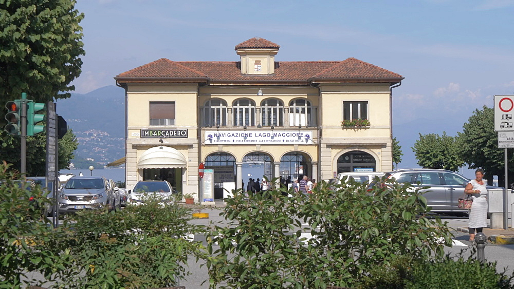 Tourist Office, Stresa, Lake Maggiore, Piedmont, Italian Lakes, Italy, Europe