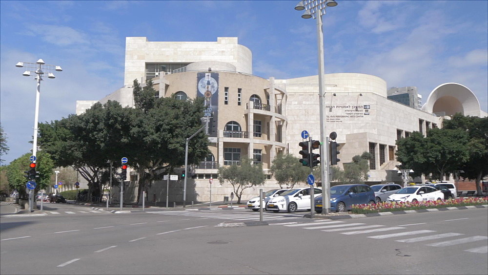 Opera House and Tel Aviv Performing Arts Center, Tel Aviv, Israel, Middle East