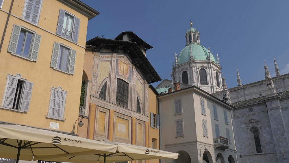 Cathedral of Como, Como, Lake Como, Lombardy, Italian Lakes, Italy, Europe