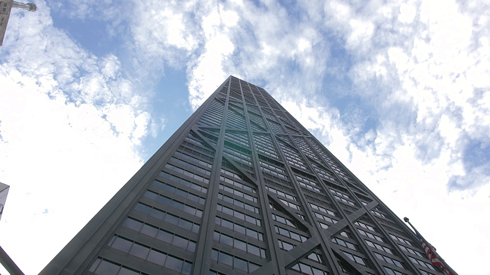 The John Hancock Building on Michigan Avenue, Chicago, Illinois, United States of America, North America