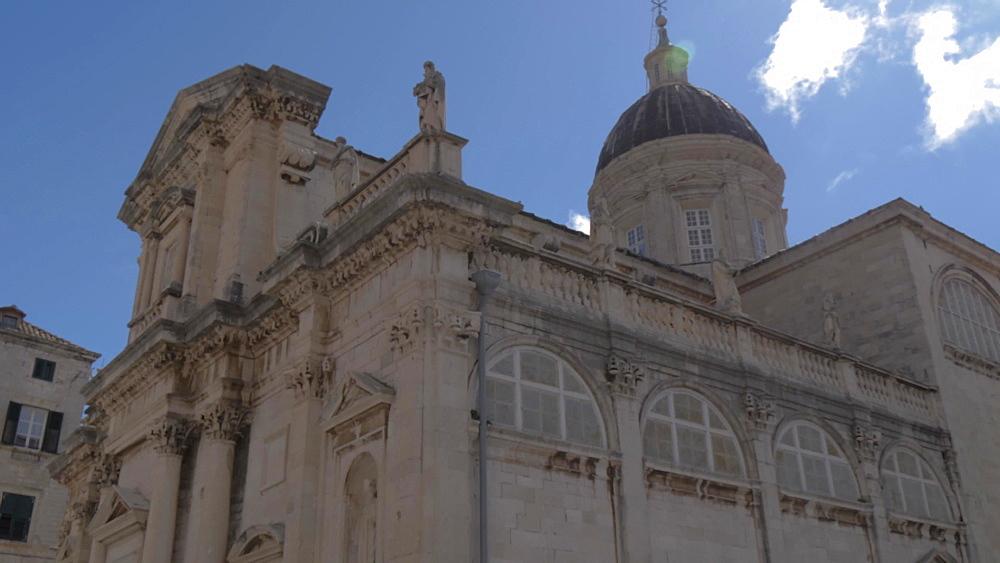 Cathedral, Dubrovnik Old Town, UNESCO World Heritage Site, Dubrovnik, Dubrovnik Riviera, Croatia, Europe