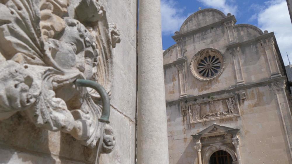 St. Saviour Church on Stradun, Dubrovnik Old Town, UNESCO World Heritage Site, Dubrovnik, Dubrovnik Riviera, Croatia, Europe