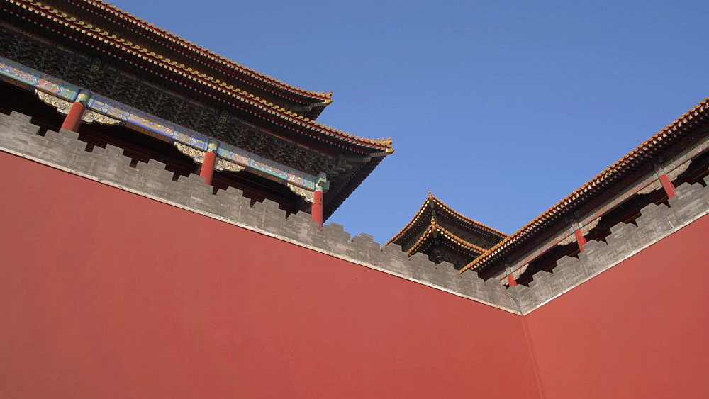 Architecture inside the Forbidden City, UNESCO World Heritage Site, Beijing, China, Asia