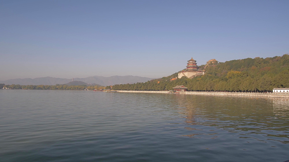 Kunming Lake and The Summer Palace, UNESCO World Heritage Site, Beijing, People's Republic of China, Asia