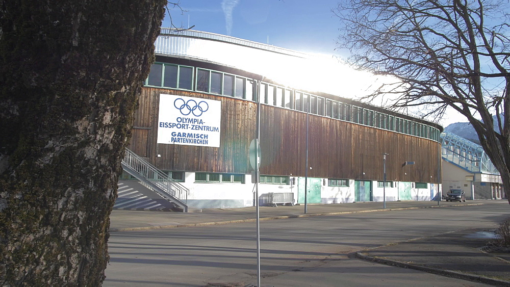 Garmisch Olympia Stadium, Garmisch-Partenkirchen, Bavaria, Germany, Europe