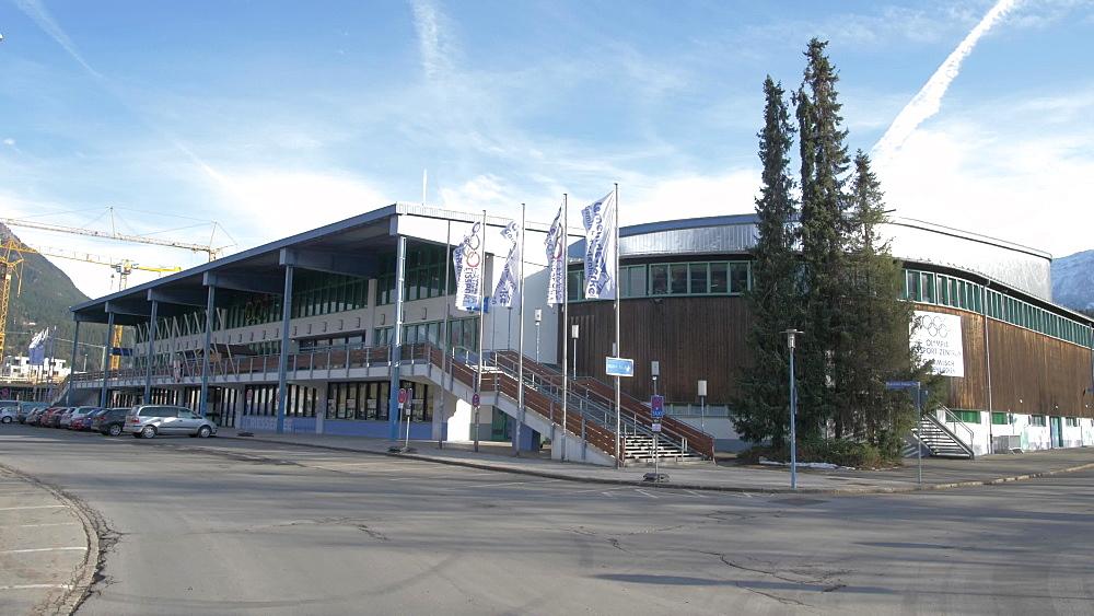Garmisch Olympia Stadium, Garmisch-Partenkirchen, Bavaria, Germany, Europe