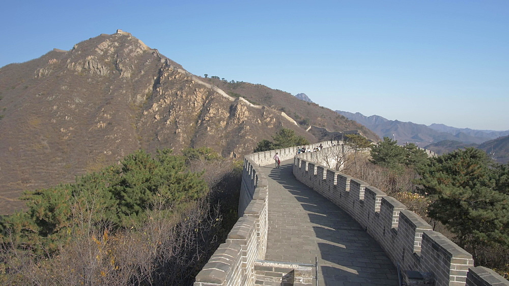 The Great Wall of China at Huanghua Cheng (Yellow Flower), UNESCO World Heritage Site, Xishulyu, Jiuduhe Zhen, Huairou, People's Republic of China, Asia