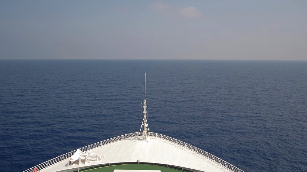 General generic cruise ship shot, Mediterranean Sea, Europe