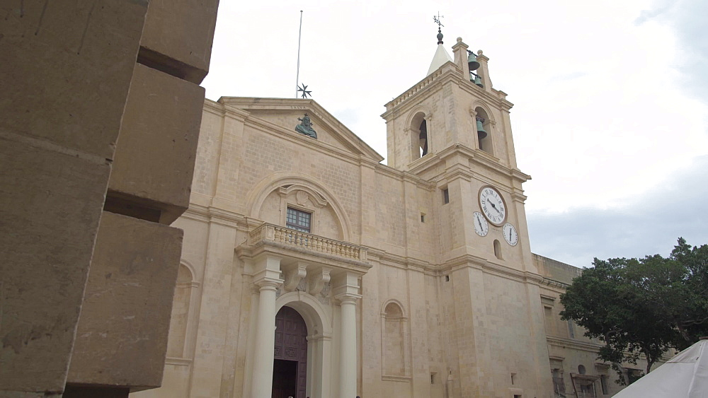 St. John's Co-Cathedral, Valletta, Malta, Mediterranean, Europe