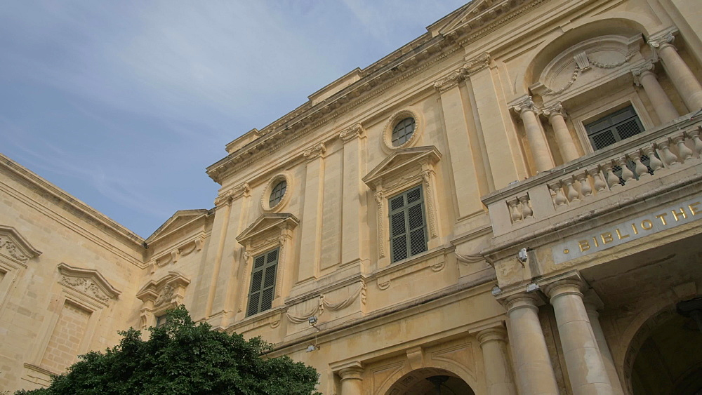 National Library of Malta, Piazza Regina, Valletta, Malta, Mediterranean, Europe